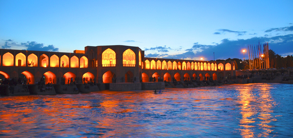 Enjoy the breath-taking views of Isfahan